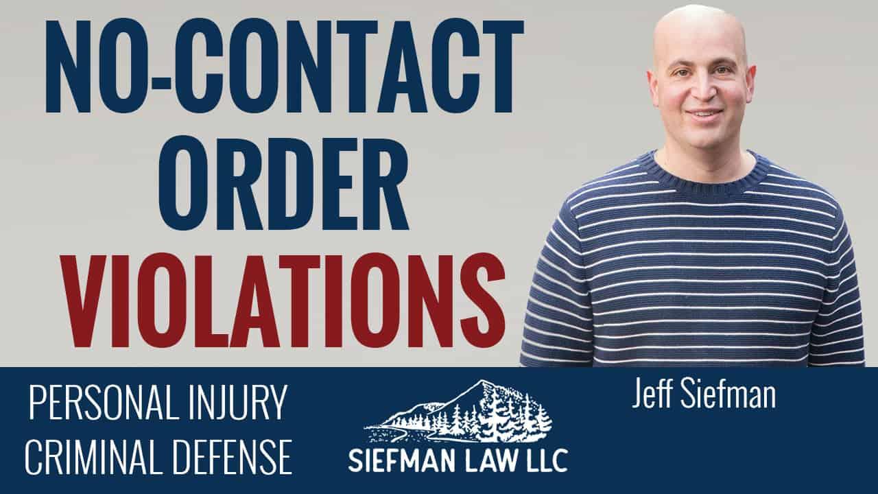 No Contact Order Violations